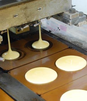 インコアイスどら製造過程3