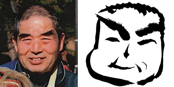 顔写真と似顔絵